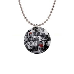 Frida Kahlo Pattern Button Necklaces