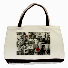 Frida Kahlo Pattern Basic Tote Bag
