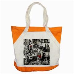 Frida Kahlo Pattern Accent Tote Bag