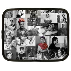 Frida Kahlo Pattern Netbook Case (large)
