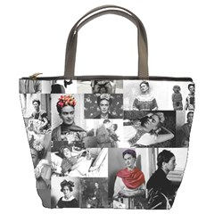 Frida Kahlo Pattern Bucket Bags