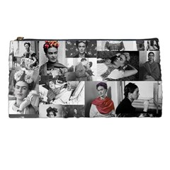 Frida Kahlo Pattern Pencil Cases by Valentinaart