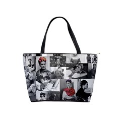 Frida Kahlo Pattern Shoulder Handbags