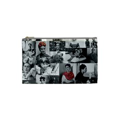 Frida Kahlo Pattern Cosmetic Bag (small)