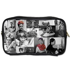 Frida Kahlo Pattern Toiletries Bags 2 Side