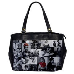 Frida Kahlo Pattern Office Handbags