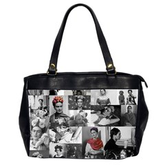 Frida Kahlo Pattern Office Handbags (2 Sides)