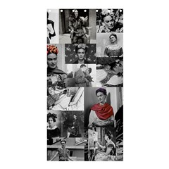 Frida Kahlo Pattern Shower Curtain 36  X 72  (stall)