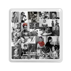 Frida Kahlo Pattern Memory Card Reader (square)