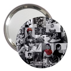 Frida Kahlo Pattern 3  Handbag Mirrors