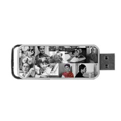 Frida Kahlo Pattern Portable Usb Flash (two Sides)