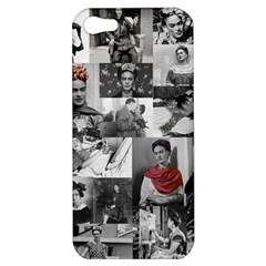 Frida Kahlo Pattern Apple Iphone 5 Hardshell Case
