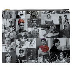 Frida Kahlo Pattern Cosmetic Bag (xxxl)