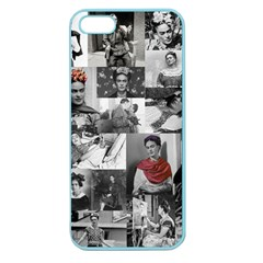 Frida Kahlo Pattern Apple Seamless Iphone 5 Case (color)