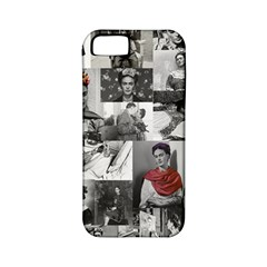 Frida Kahlo Pattern Apple Iphone 5 Classic Hardshell Case (pc+silicone)