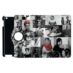 Frida Kahlo Pattern Apple Ipad 2 Flip 360 Case