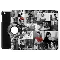 Frida Kahlo Pattern Apple Ipad Mini Flip 360 Case