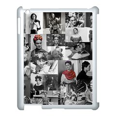 Frida Kahlo Pattern Apple Ipad 3/4 Case (white)