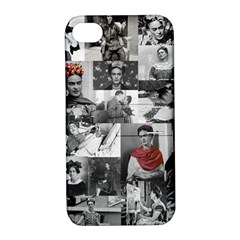 Frida Kahlo Pattern Apple Iphone 4/4s Hardshell Case With Stand