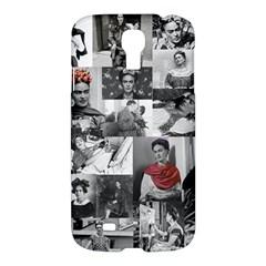 Frida Kahlo Pattern Samsung Galaxy S4 I9500/i9505 Hardshell Case by Valentinaart