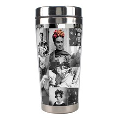 Frida Kahlo Pattern Stainless Steel Travel Tumblers