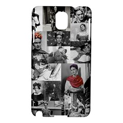 Frida Kahlo Pattern Samsung Galaxy Note 3 N9005 Hardshell Case