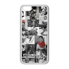 Frida Kahlo Pattern Apple Iphone 5c Seamless Case (white)