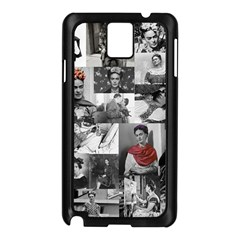 Frida Kahlo Pattern Samsung Galaxy Note 3 N9005 Case (black)