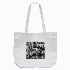 Frida Kahlo Pattern Tote Bag (white)