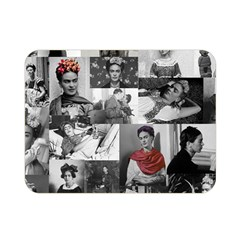 Frida Kahlo Pattern Double Sided Flano Blanket (mini)
