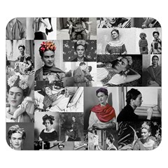 Frida Kahlo Pattern Double Sided Flano Blanket (small)