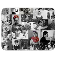 Frida Kahlo Pattern Double Sided Flano Blanket (medium)