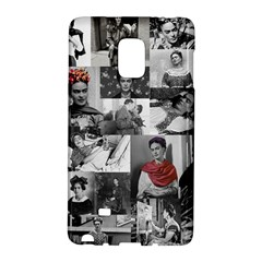 Frida Kahlo Pattern Samsung Galaxy Note Edge Hardshell Case