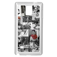 Frida Kahlo Pattern Samsung Galaxy Note 4 Case (white)