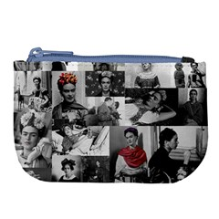Frida Kahlo Pattern Large Coin Purse