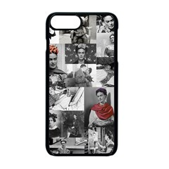 Frida Kahlo Pattern Apple Iphone 7 Plus Seamless Case (black)