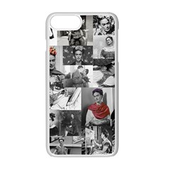 Frida Kahlo Pattern Apple Iphone 7 Plus Seamless Case (white)