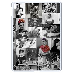 Frida Kahlo Pattern Apple Ipad Pro 9 7   White Seamless Case