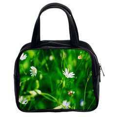 Inside The Grass Classic Handbags (2 Sides) by FunnyCow