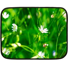 Inside The Grass Fleece Blanket (mini) by FunnyCow