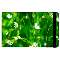 Inside The Grass Apple Ipad 2 Flip Case by FunnyCow