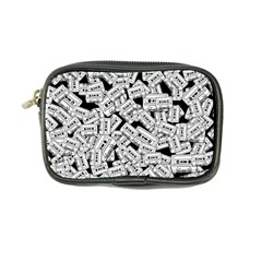 Audio Tape Pattern Coin Purse