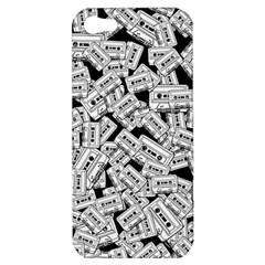 Audio Tape Pattern Apple Iphone 5 Hardshell Case