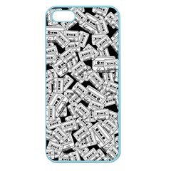 Audio Tape Pattern Apple Seamless Iphone 5 Case (color)