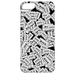 Audio Tape Pattern Apple Iphone 5 Classic Hardshell Case