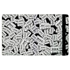 Audio Tape Pattern Apple Ipad 2 Flip Case