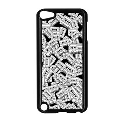 Audio Tape Pattern Apple Ipod Touch 5 Case (black)