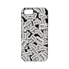 Audio Tape Pattern Apple Iphone 5 Classic Hardshell Case (pc+silicone)