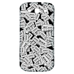 Audio Tape Pattern Samsung Galaxy S3 S Iii Classic Hardshell Back Case