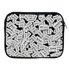 Audio Tape Pattern Apple Ipad 2/3/4 Zipper Cases